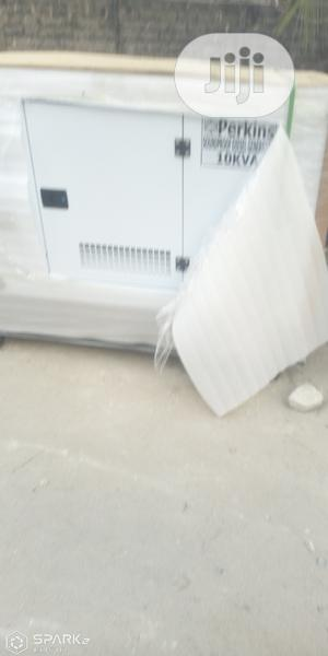 10 KVA Perkins Soundproof Diesel Generator | Electrical Equipment for sale in Lagos State, Abule Egba