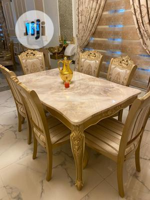 Executive Quality Royal Dinning Table With 6 Seaters Chair   Furniture for sale in Lagos State, Lekki