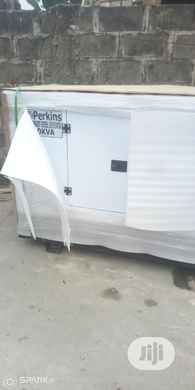 Original Perkins 40KVA Soundproof Diesel Generator | Electrical Equipment for sale in Agboyi/Ketu, Lagos State, Nigeria
