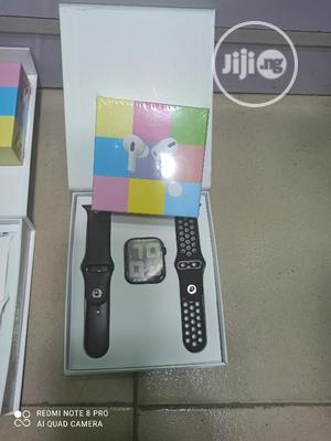 T55 Smart Watch Series 5 With Free Airpods Pro Apple Clone   Smart Watches & Trackers for sale in Imo State, Owerri