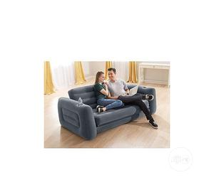 Inflatable Convertible Air Sofa Chair/Bed +Electric Pump | Furniture for sale in Lagos State, Amuwo-Odofin