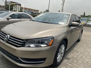 Volkswagen Passat 2015 Gold   Cars for sale in Lagos State, Ikeja