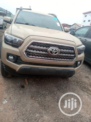 Toyota Tacoma 2018 TRD Off Road Beige | Cars for sale in Lagos State, Ojodu