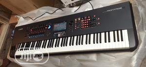 Yamaha Montage8 88-key Synthesizer Workstation, Black | Musical Instruments & Gear for sale in Lagos State, Ojo