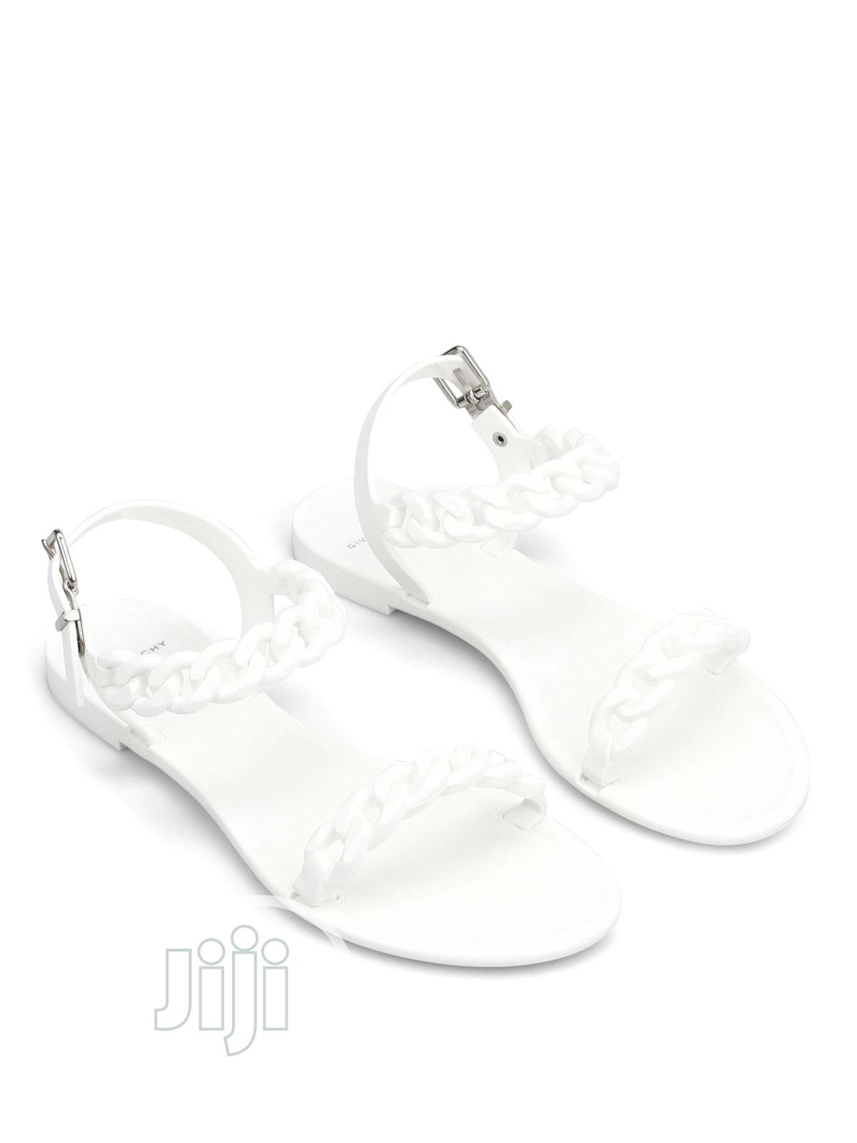 Givenchy Jelly Rubber Sandals