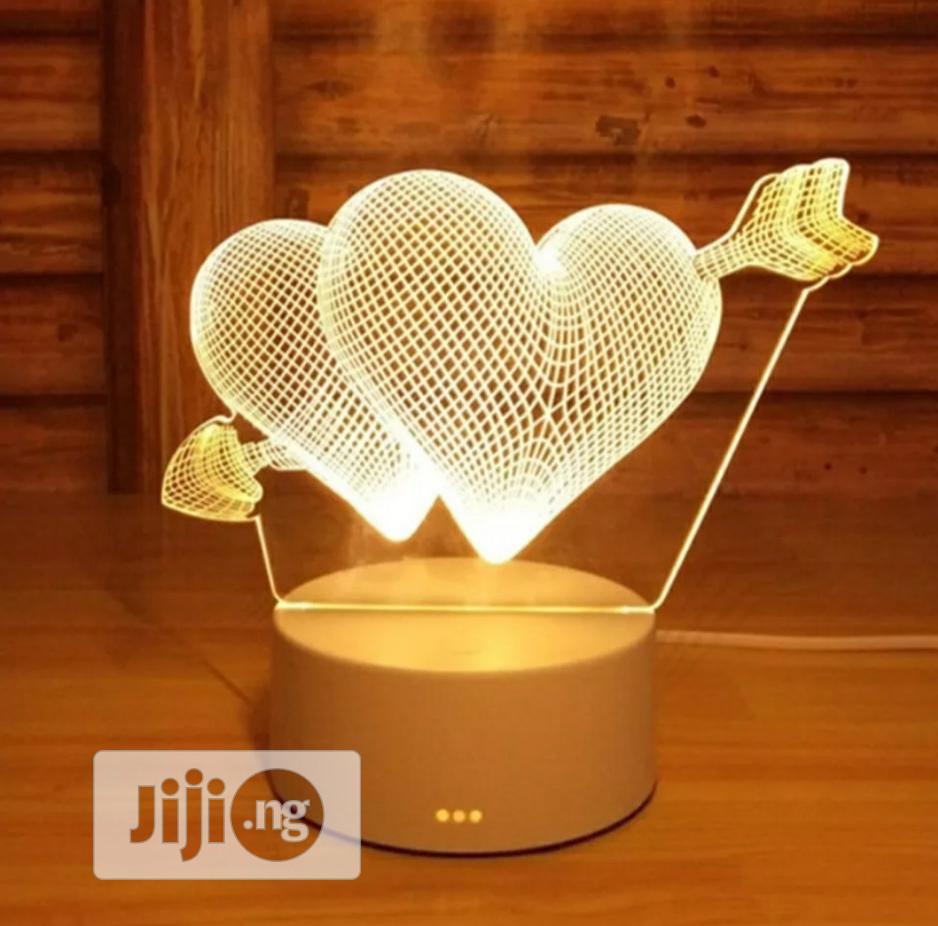 Archive: 3D Lamp Acrylic Led Night Light Decorative Table Lamp