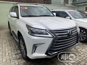 Lexus LX 2017 570 Base White | Cars for sale in Lagos State, Ikeja