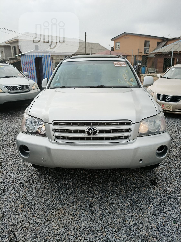 Toyota Highlander 2003 Limited V6 FWD Silver
