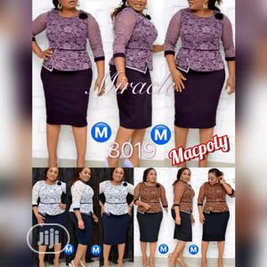 Skirt And Blouse With Gown   Clothing for sale in Lagos State, Ikoyi