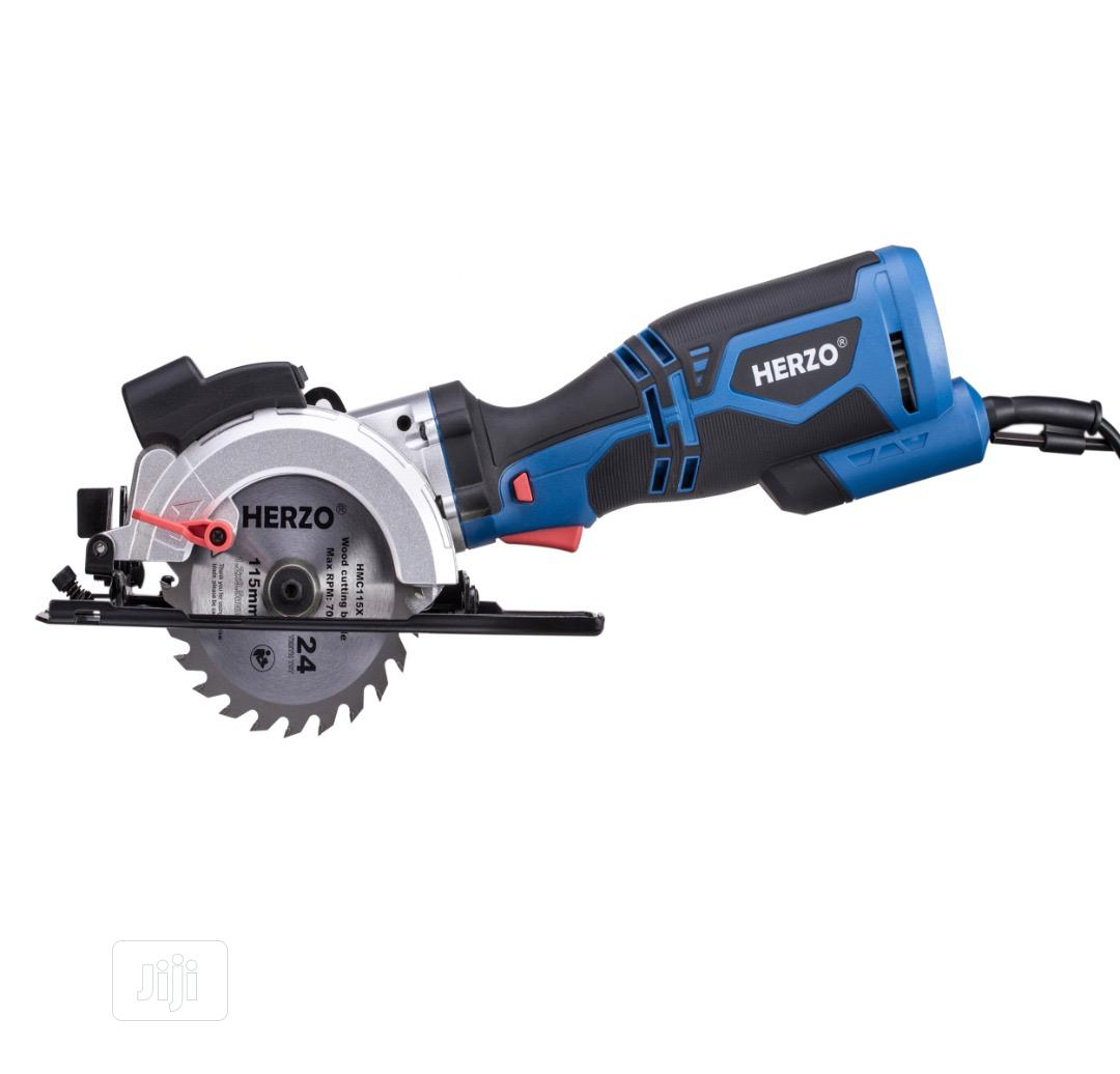 Archive: 4 Inch Blade Handheld Circular Saw by Herzo