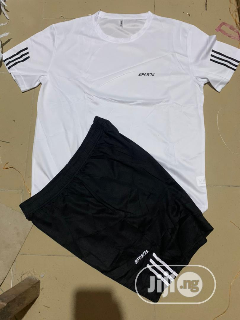 Archive: White And Black Set Of Jersey