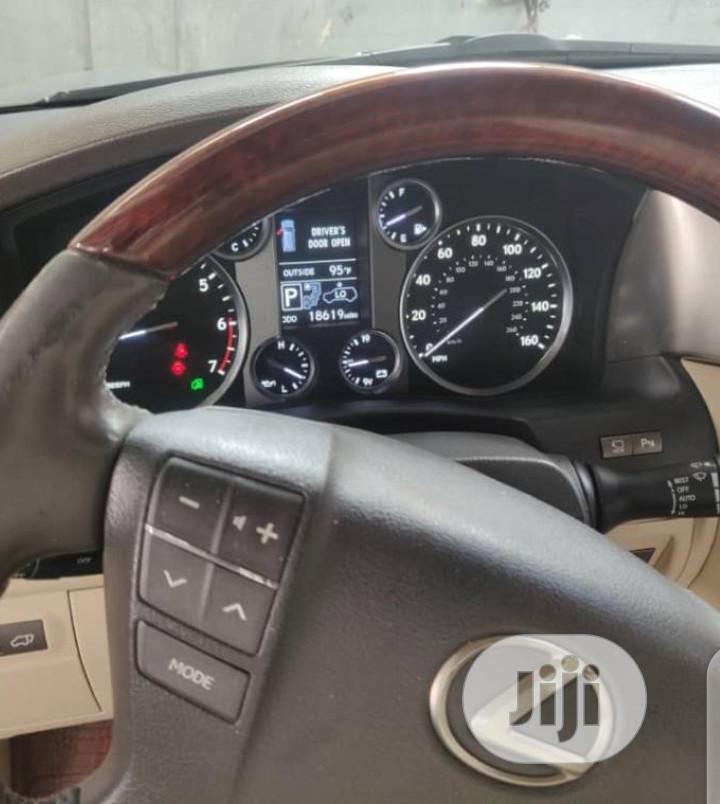 Archive: Lexus LX 2013 570 Base Gray