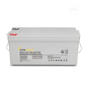 Smksolar 200ah Deep Cycle Battery | Electrical Equipment for sale in Lagos State, Ikeja