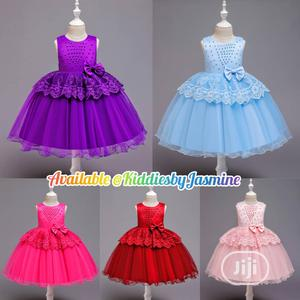 Girl Colorful Beaded Ball Gown | Children's Clothing for sale in Lagos State, Alimosho