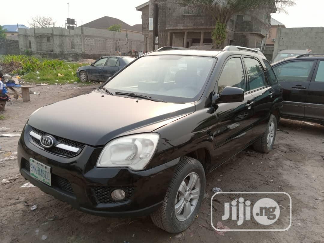 Kia Sportage 2010 Black | Cars for sale in Ajah, Lagos State, Nigeria