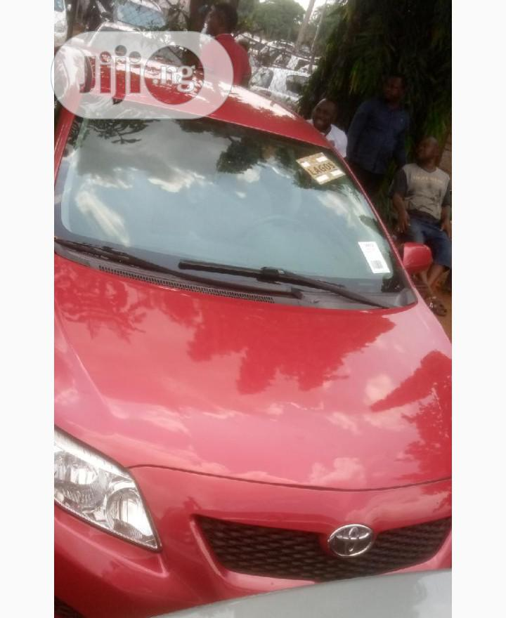 Toyota Corolla 2009 Red | Cars for sale in Benin City, Edo State, Nigeria