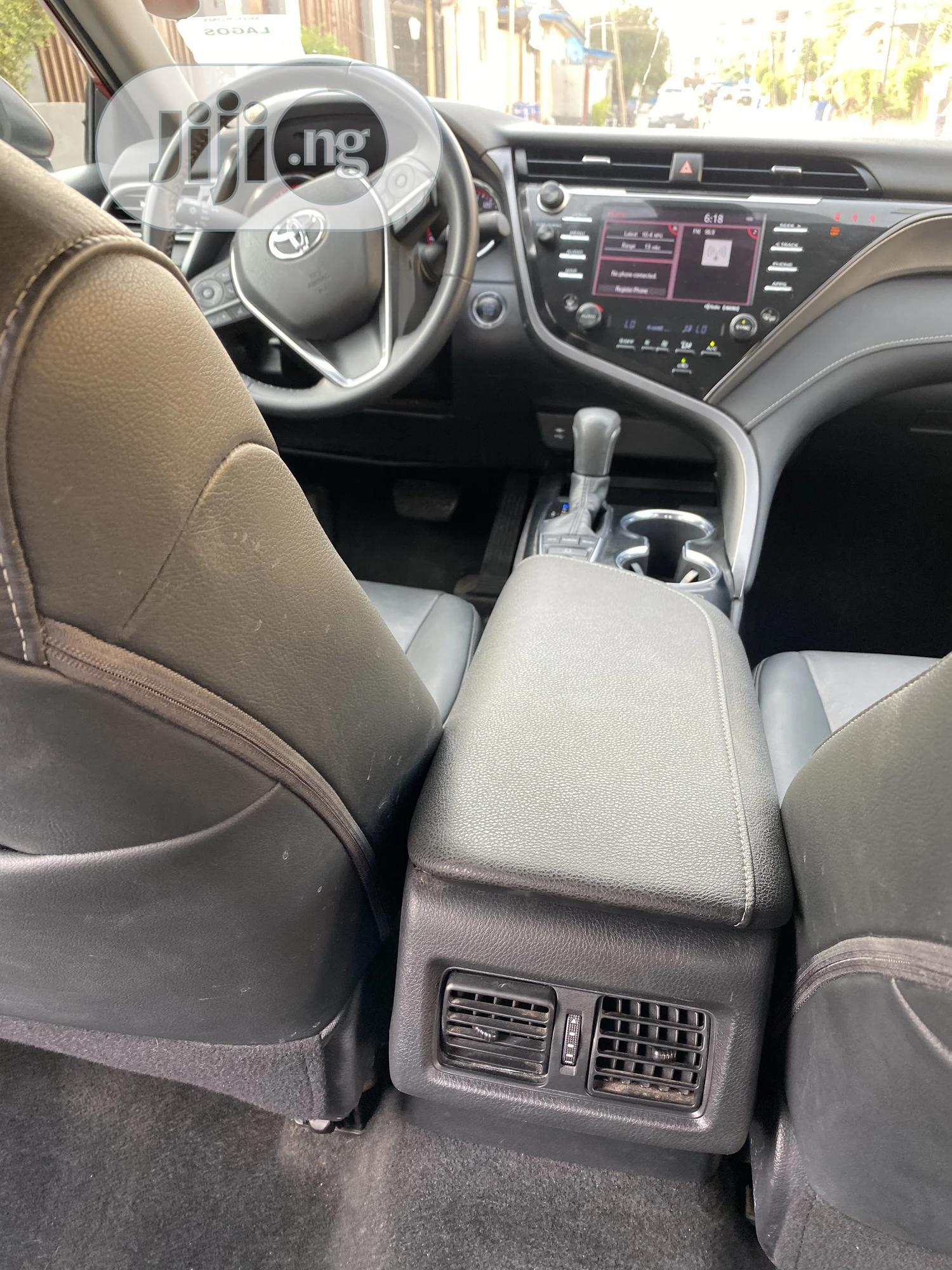 Toyota Camry 2019 Red | Cars for sale in Ikeja, Lagos State, Nigeria