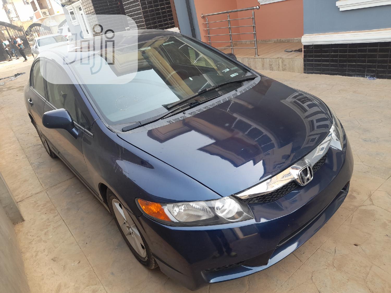 Archive: Honda Civic 2009 1.8 Sport Automatic Blue