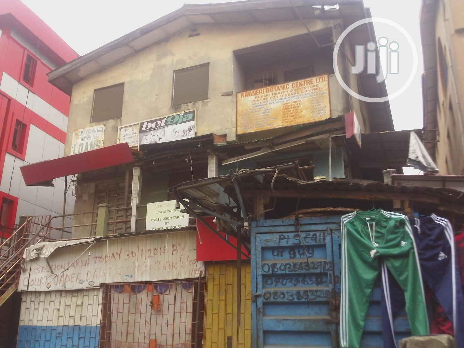 A Commercial Property On 3-floor For Sale
