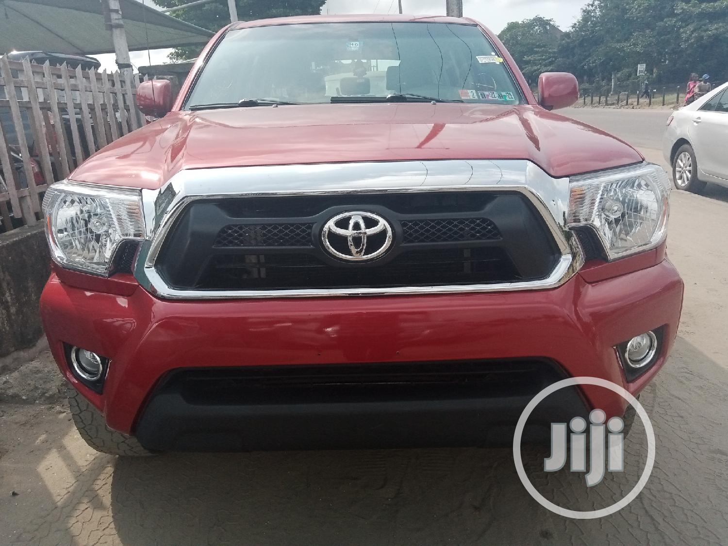 Toyota Tacoma 2009 PreRunner Access Cab Red