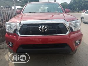 Toyota Tacoma 2009 PreRunner Access Cab Red | Cars for sale in Lagos State, Amuwo-Odofin