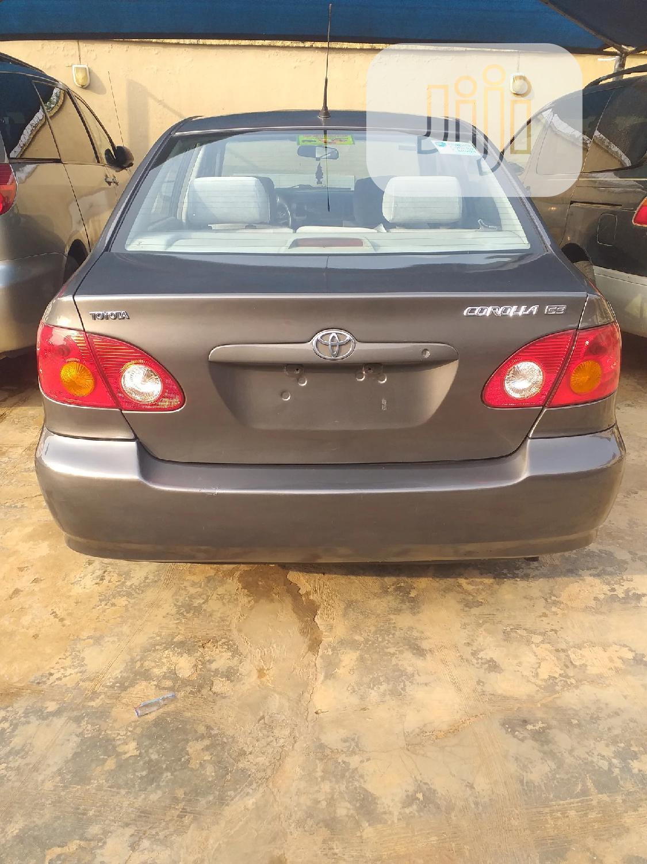 Toyota Corolla 2004 Gray   Cars for sale in Agboyi/Ketu, Lagos State, Nigeria