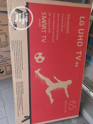 LG 65 Inches LED Smart 4k   TV & DVD Equipment for sale in Lagos State, Apapa