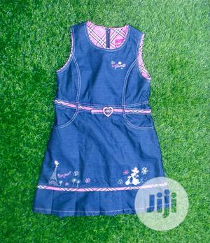 Jeans Gown 6-8yrs. 2500 | Children's Clothing for sale in Rivers State, Port-Harcourt