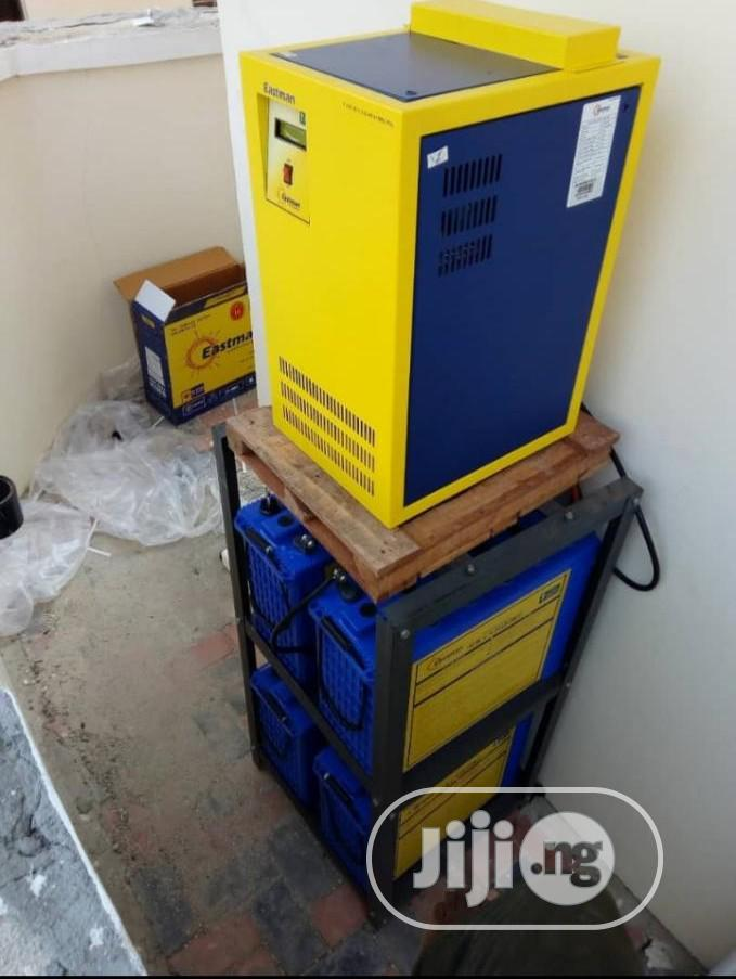 4kva Installation With India Battery | Solar Energy for sale in Numan, Adamawa State, Nigeria