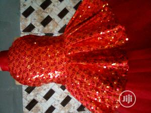 Beautiful Red Ball Gown for Classic Girl   Children's Clothing for sale in Lagos State, Ikorodu