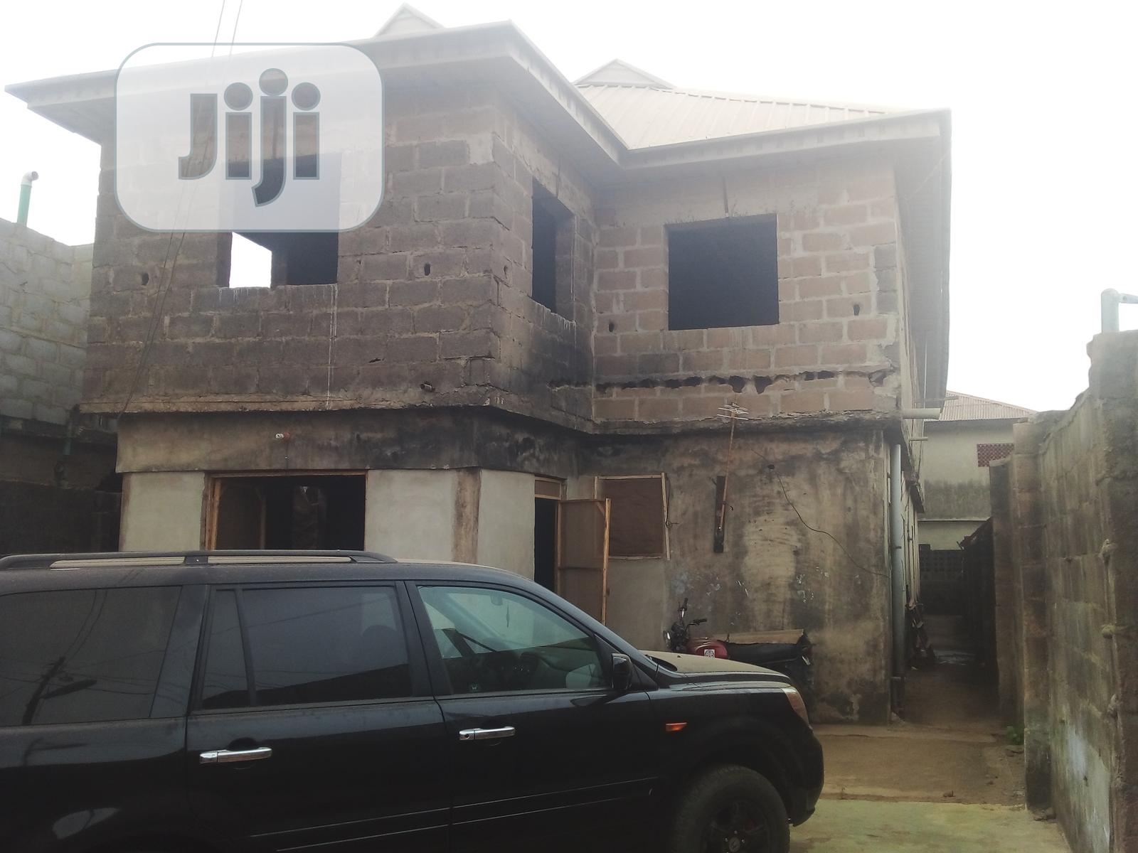 An Uncompleted Building for Sale | Houses & Apartments For Sale for sale in Baruwa, Ipaja, Nigeria