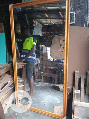 3ft by 6ft Wooden Mirror | Home Accessories for sale in Lagos State, Orile