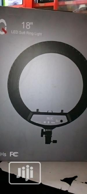 LED Soft Ring Light With Stand HQ-18 | Accessories & Supplies for Electronics for sale in Lagos State, Ikeja