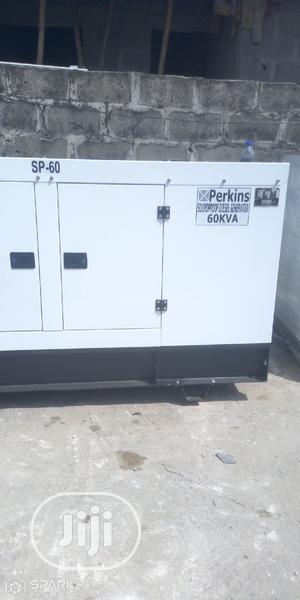 Original Perkins 60kva Soundproof Diesel Generator | Electrical Equipment for sale in Lagos State, Surulere