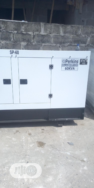 Original Perkins 60kva Soundproof Diesel Generator