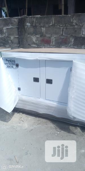 Original Perkins 30 KVA Soundproof Diesel Generator   Electrical Equipment for sale in Lagos State, Ikeja