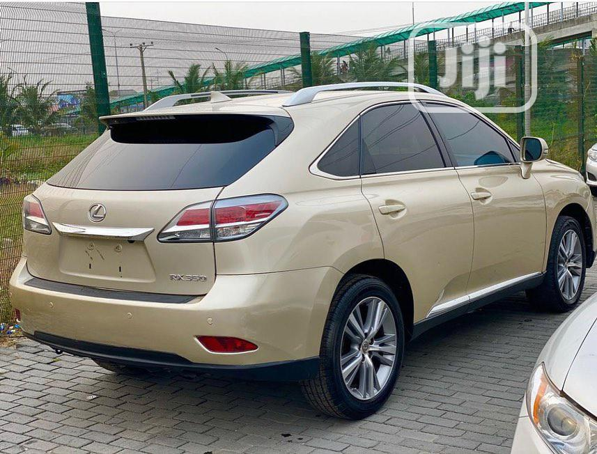 Lexus RX 2015 350 AWD Gold | Cars for sale in Central Business Dis, Abuja (FCT) State, Nigeria