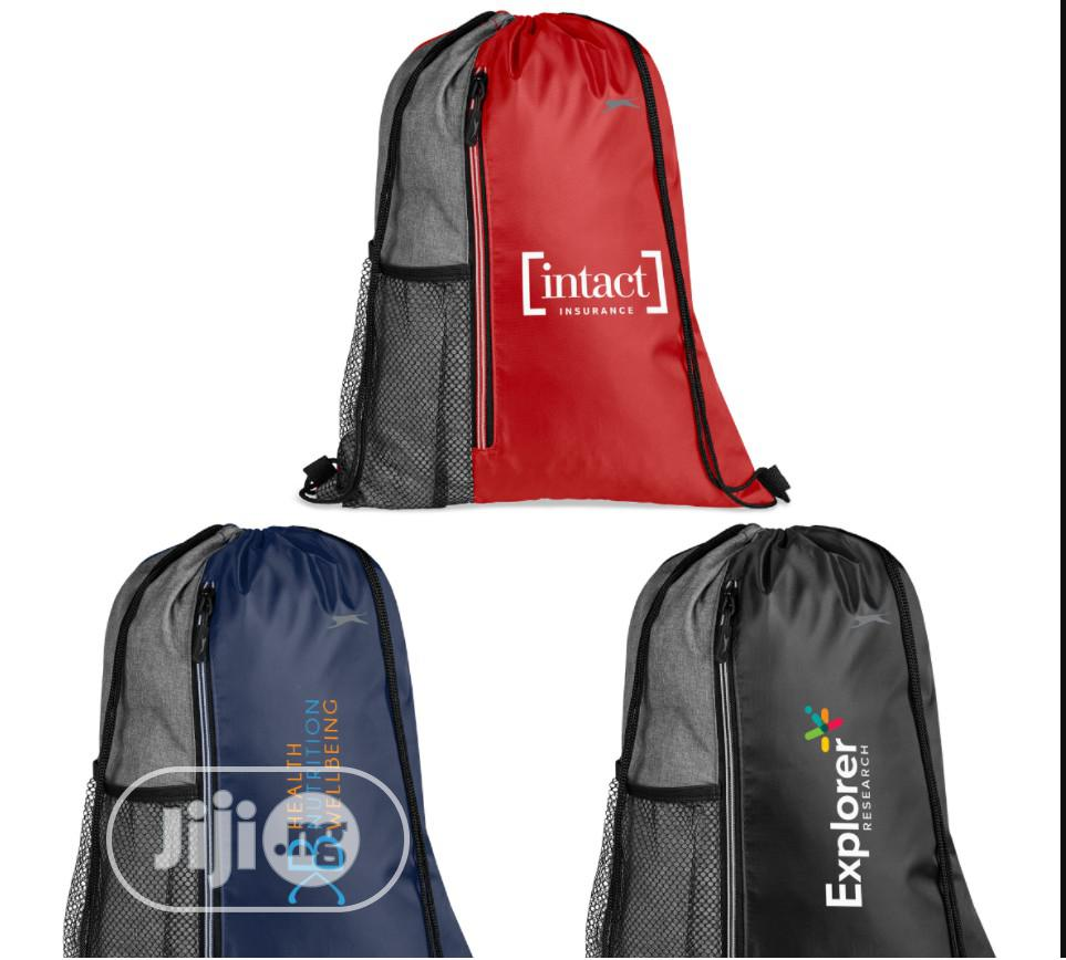 Archive: Wembley Drawstring Bag. Can Be Branded.Unique and Affordable