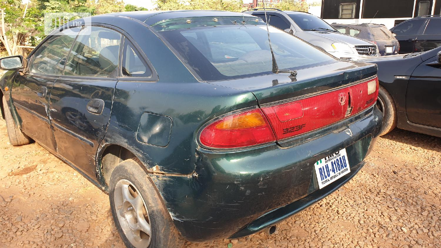 Mazda 3 2002 Green | Cars for sale in Central Business Dis, Abuja (FCT) State, Nigeria