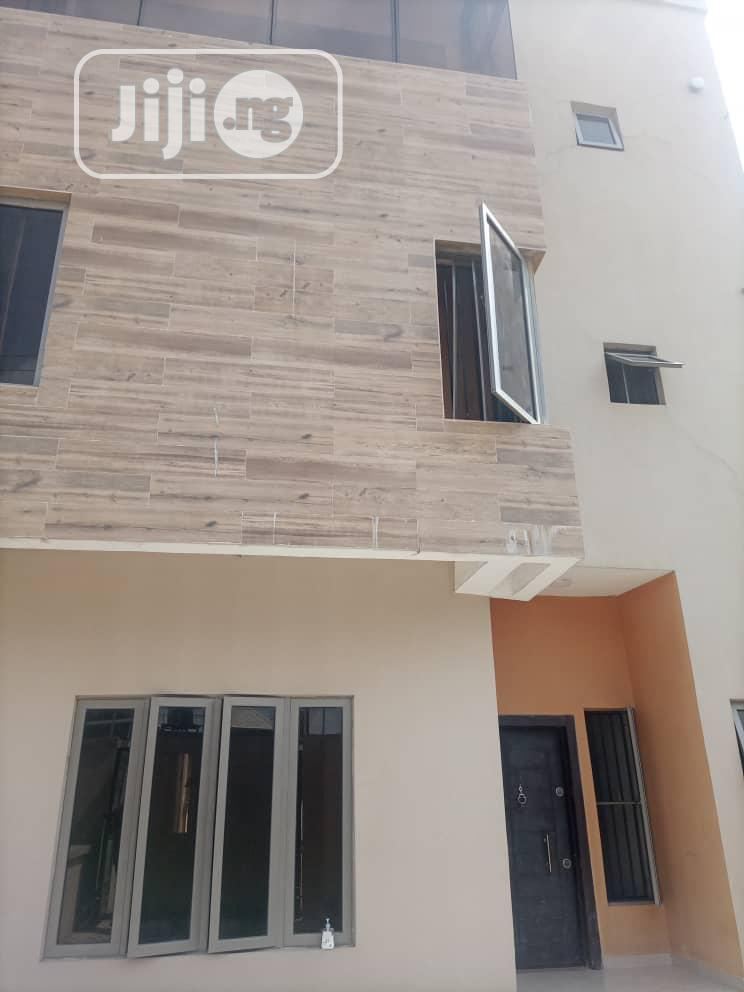 Tastefully Finished 4 Bedroom Terrace Duplex With Bq