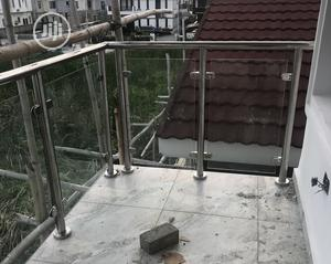 Toughened Glass Stainless Steel Handrails   Building & Trades Services for sale in Lagos State, Ajah