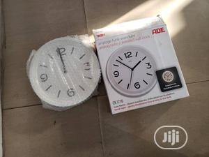 ADE CK1710 Radio Wall Clock 250 Mm X 65 Mm White | Home Accessories for sale in Lagos State, Isolo