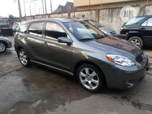 Toyota Matrix 2006 Gray   Cars for sale in Lagos State, Isolo