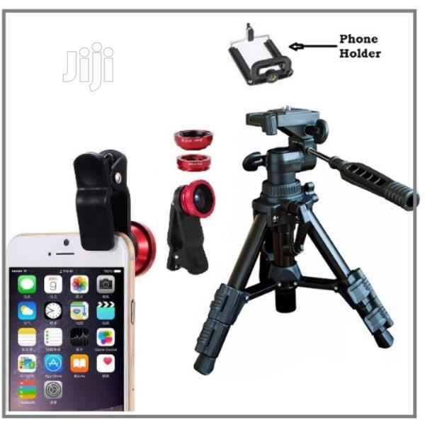 X8 Mobile Phone Telescope for Camera With Tripod Stand