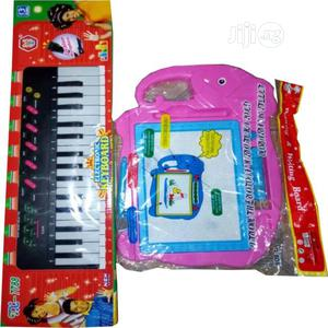 Children Toy Guitar And Writing Drawing Board | Toys for sale in Lagos State, Lagos Island (Eko)