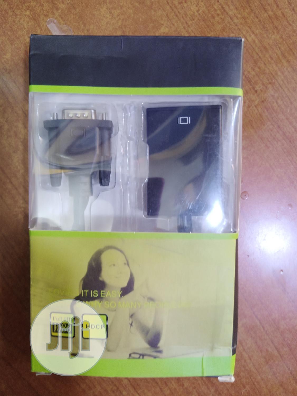 VGA to Hdmi Converter   Computer Accessories  for sale in Wuse 2, Abuja (FCT) State, Nigeria