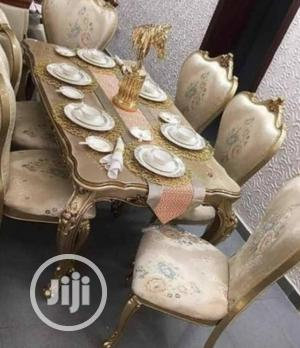 Executive Quality Royal Dinning Table With 6 SEATERS CHAIRS   Furniture for sale in Lagos State, Lekki