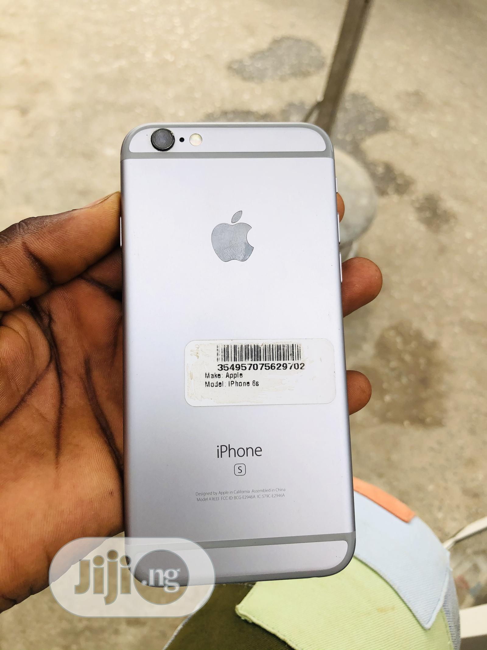 Apple iPhone 6s 16 GB Silver | Mobile Phones for sale in Ikeja, Lagos State, Nigeria
