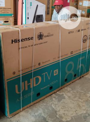 """Hisense 85""""Inch Smart UHD HD 4K Wifi Connection Free Bracket   TV & DVD Equipment for sale in Lagos State, Ojo"""
