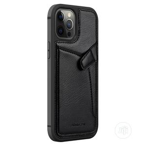 Leather Cover Case for Apple iPhone 12/Pro/Max   Accessories for Mobile Phones & Tablets for sale in Lagos State, Ikeja